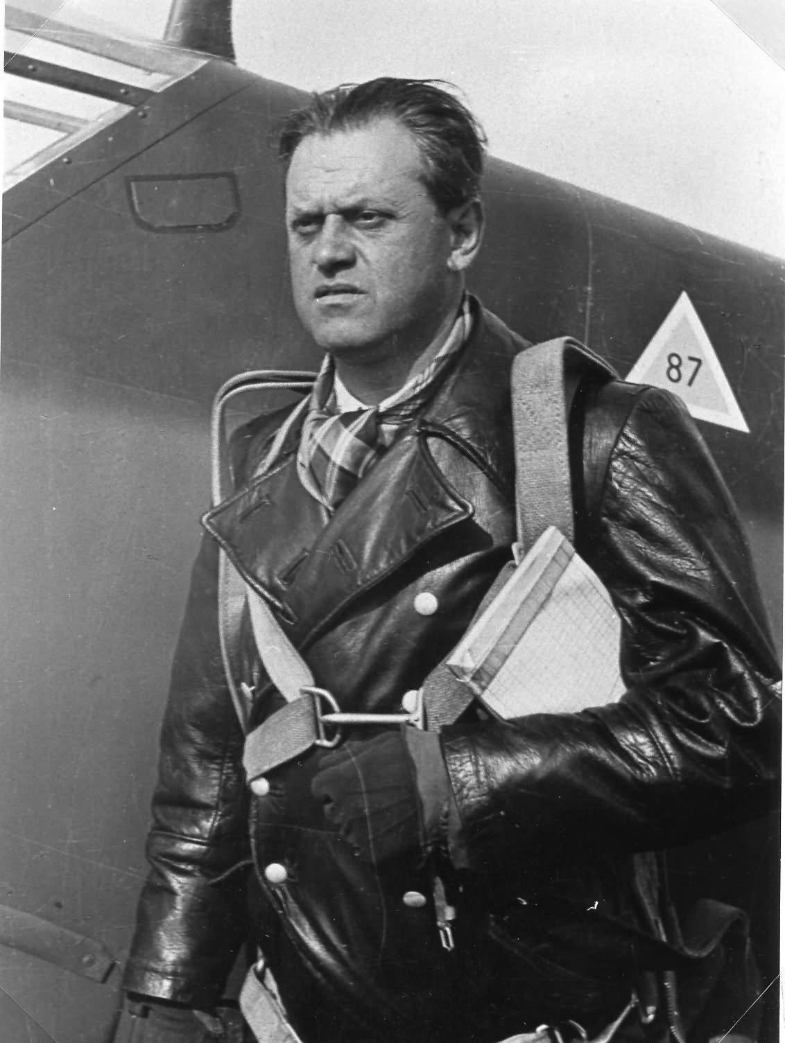 Messerschmitt Bf109 Wiener Neustadter Flugzeugwerke pilot