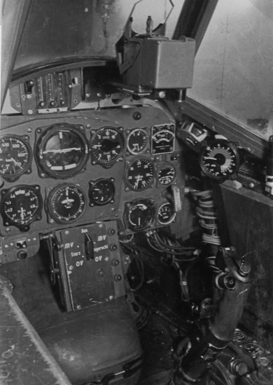 Messerschmitt Bf109 cockpit WNF