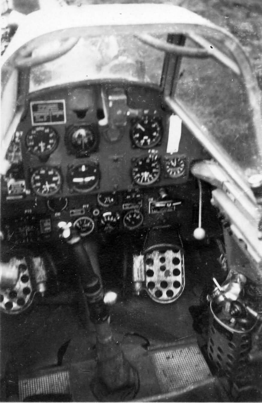 Messerschmitt Bf109 cockpit photo