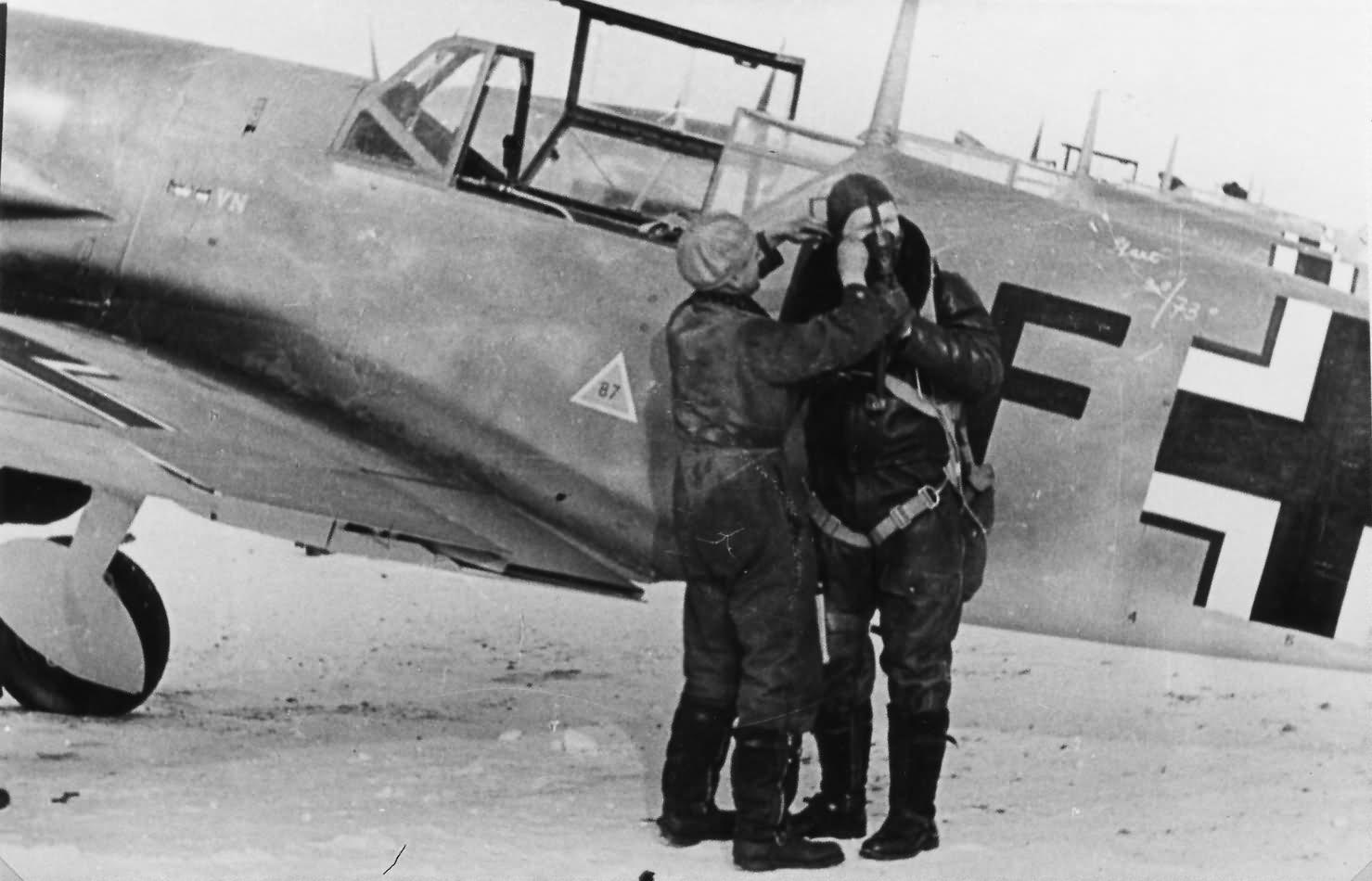 Messerschmitt Bf109 fighters WNF 6