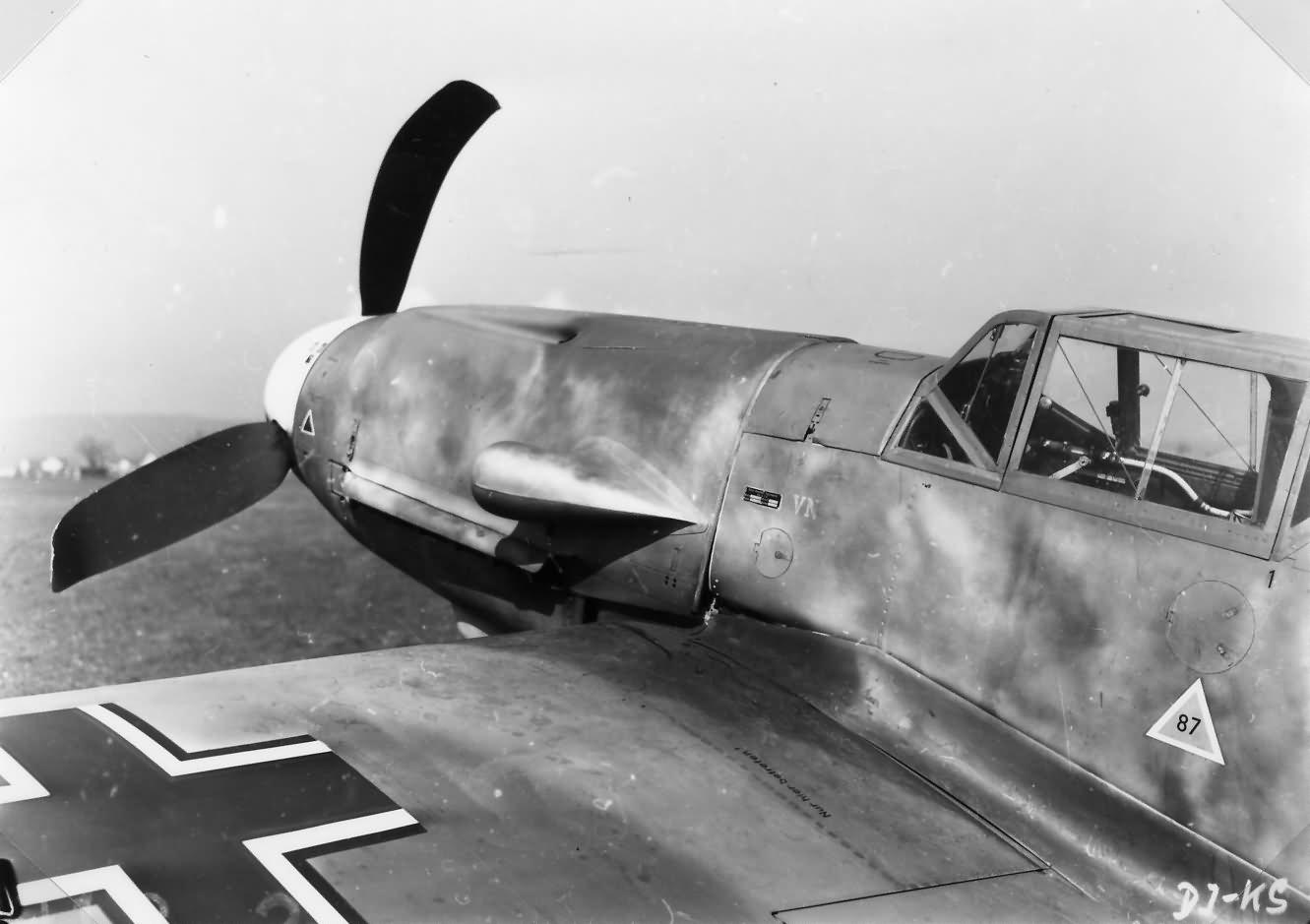 Messerschmitt Bf 109 F Wiener Neustadter Flugzeugwerke 114