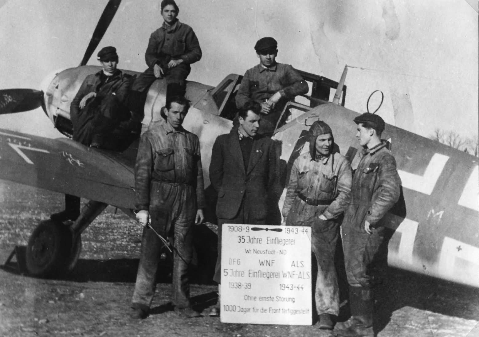 Messerschmitt Bf 109 G Wiener Neustadter Flugzeugwerke 1944