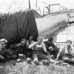 Bf109E II/JG 26 in Bonninghardt Summer 1939