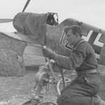 Bf 109 E red 12 5/JG 27 in Sofia Vrba April 1941
