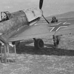 Bf109E red 12 5.JG 27 in Sofia Vrba April 1941 photo