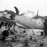 Bf109E white 6 7.JG 26 in Essen Muhlheim1940
