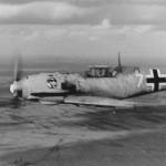 Bf109E white 7 1.JG 27 Caen 1940