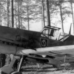 Bf109E with Infanterie Sturmabzeichen