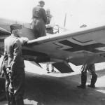 Bf109F 8/JG 26 pilot Ofw Max Martin France 1941 2