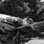 Bf109G-6 with 20 mm cannon pods