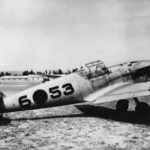 Bf 109B 6-53 during Spanish Civil War