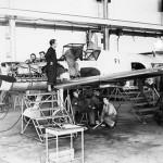 Bf 109 in Wiener Neustadter Flugzeugwerke factory 9