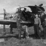 JG3 Bf109F Gruppenkommandeur plane