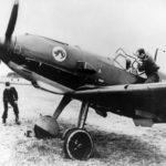 Me 109E-1 of the 8/JG 51 ex 2/JG 20 1939