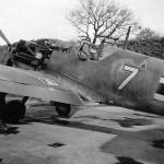 Me109 E white 7 1.JG 26 Dusseldorf 1940