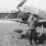 Messerschmitt Bf109D and pilot