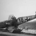 Messerschmitt Bf109E black 10