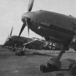 Messerschmitt Bf109E fighters