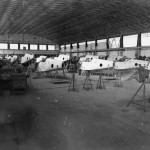 Messerschmitt Bf109 assembly line WNF
