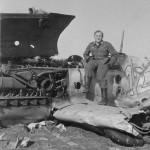 Messerschmitt Me109F white 12 wreck