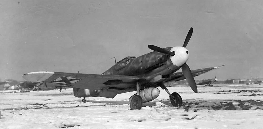Bulgarian Bf 109G-4
