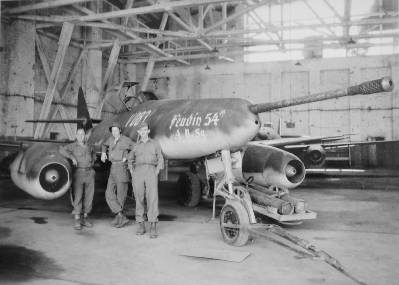 Me262 V083 with a 50mm Rheinmetall Mauser BK 5 cannon