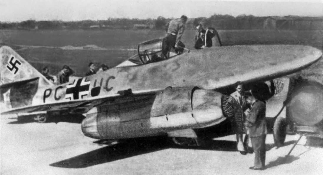 Third prototype Me 262 V3 PC+UC
