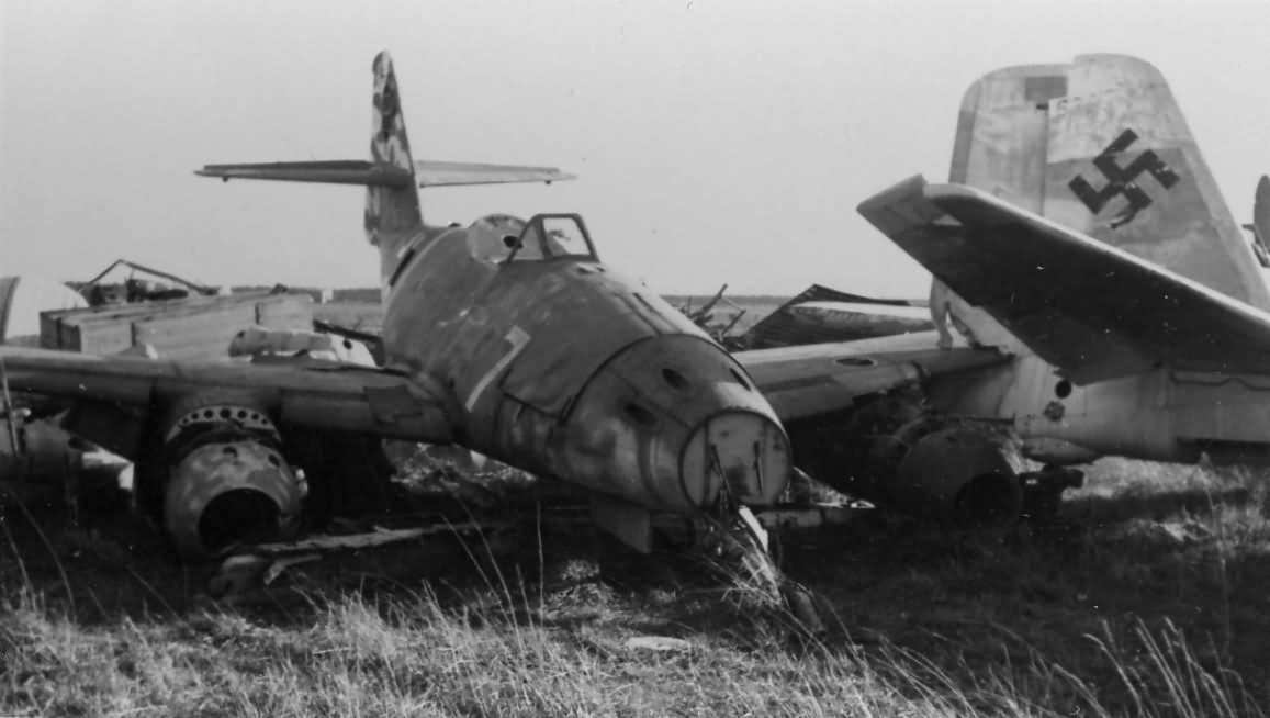 Messerschmitt Me262 7 World War Photos
