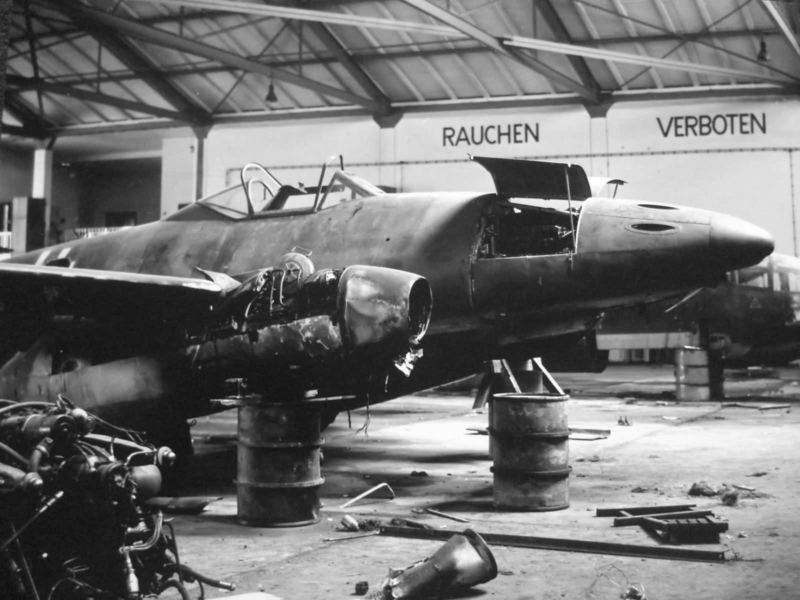 Messerschmitt Me262 jet fighter Salzburg Austria