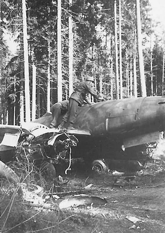 Messerschmitt Me 262 jet fighter