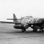 Me262B Jet Fighter in Germany 1945