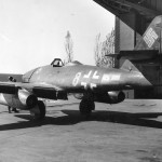 Me262 yellow 8 W. Nr. 112358 of the JG7, Stendal-Borstel Germany 1945