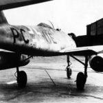 Me 262 V5 Stammkennzeichen PC+UE