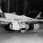 Messerschmitt Me262 wreck 1945