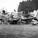 Messerschmitt Me 262 wreckage