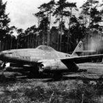 Me 262 111711, pilot Hans Fay