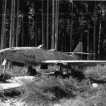 Me 262 wreck in 1945