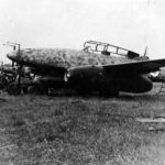 "Night fighter Me 262 B-1a/U1 red ""8"" W.Nr. 110305 from NJG11"
