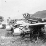 wings of the Me 262 and Si204