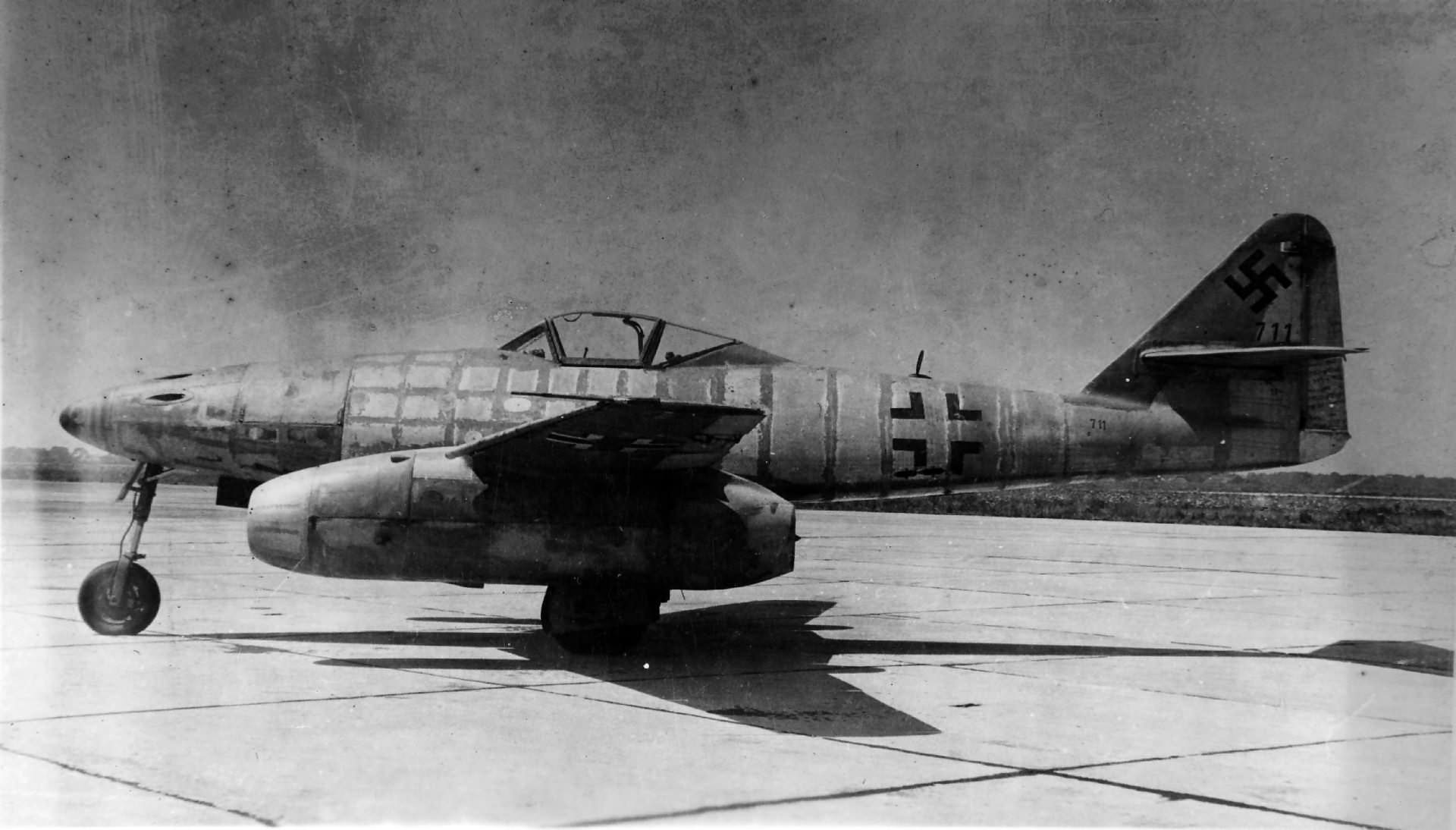 "Me 262 ""Schwalbe"" W.Nr. 111711 USA"