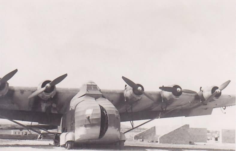 Me323 D-2 of the 1./KGzbV 323, X1L, Sicily 1943 2
