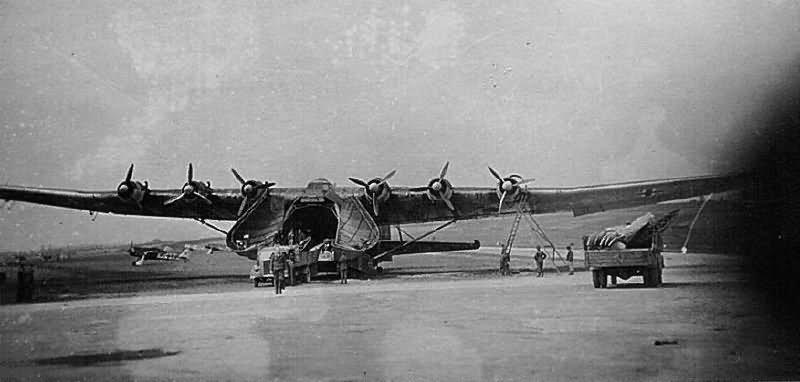 Me 323 Gigant transport aircraft