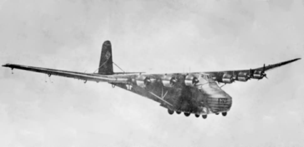 Messerschmitt Me323 in flight
