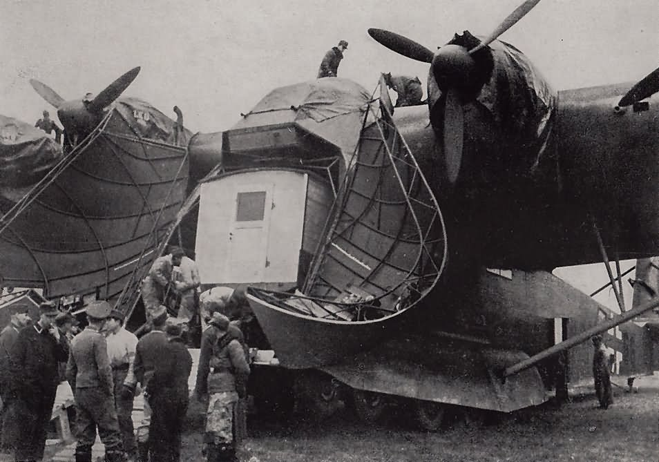 Messerschmitt Me323 transport plane