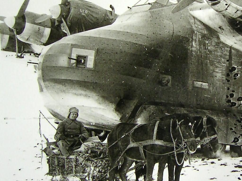 Messerschmitt Me323 winter