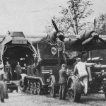 Messerschmitt Me323 gigant and sdkfz 7 halftrack