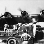 Me 323 warming-up its engines, Italy Pisa