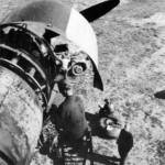 Messerschmitt Me323 engine maintenance