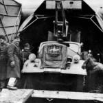 Opel Blitz crane loaded on a Me 323
