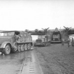 Sdkfz 8 towing a Me 323